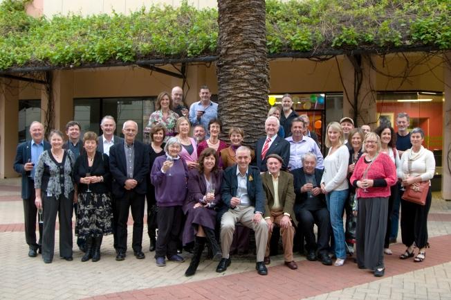 John Dowson party group shot