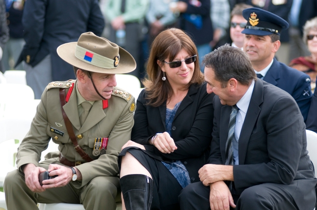 Adele at ANZAC Day