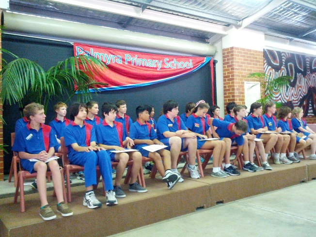 Congratulations to graduating Year 7s at Palmyra Primary School